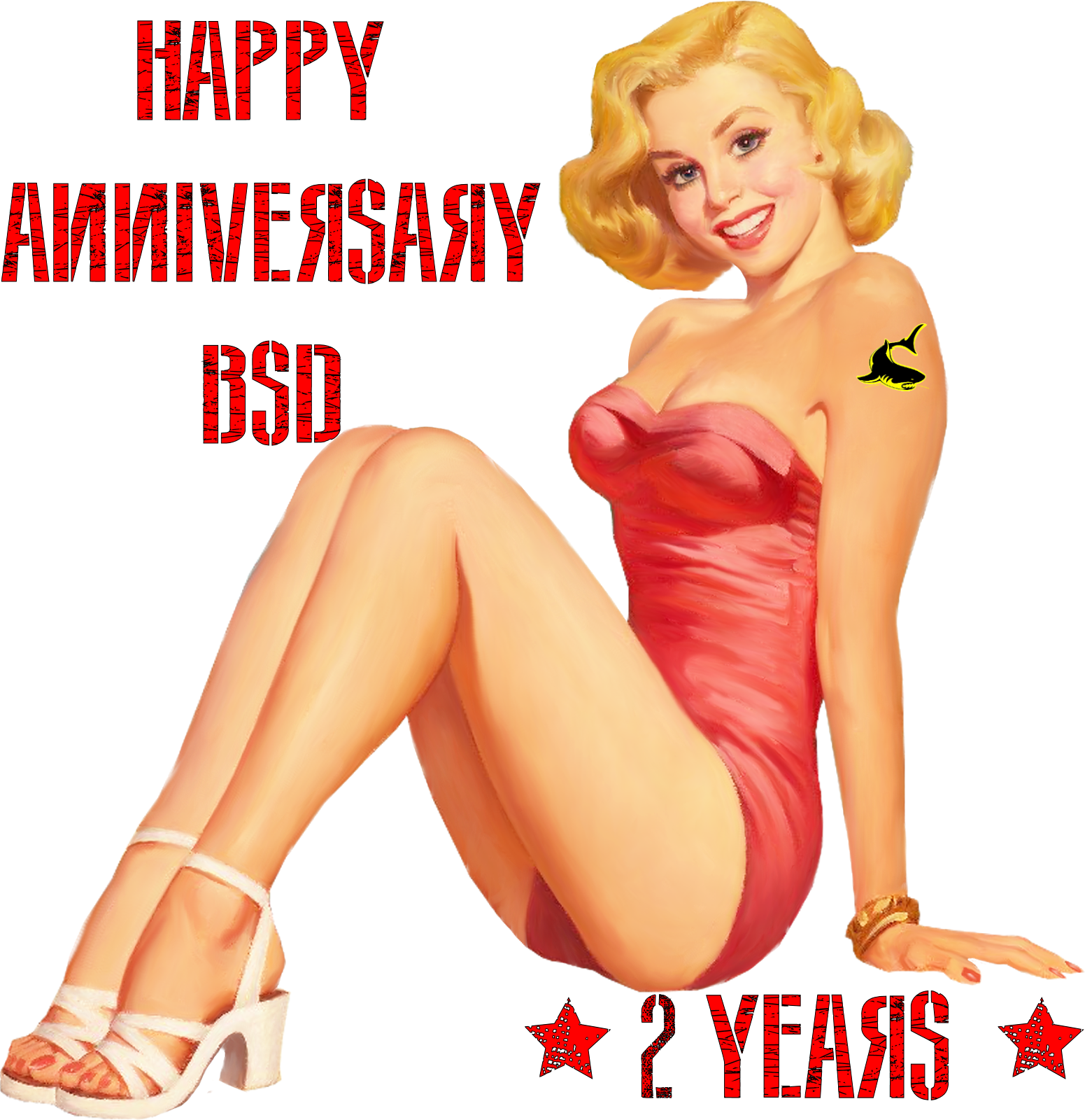 Happy Anniversary BSD! 2 years